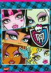Zeszyt Monster High w linie 32 strony A5 niebieska w sklepie internetowym Booknet.net.pl