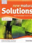 New Matura Solutions 2E Upper-intermediate SB PL w sklepie internetowym Booknet.net.pl
