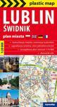 Lublin i Świdnik foliowany plan miasta 1:20 000 w sklepie internetowym Booknet.net.pl