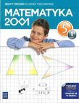 Matematyka 2001 Klasa 5 szkoła podstawowa część 1 Zeszyt ćwiczeń w sklepie internetowym Booknet.net.pl