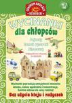 Wycinanki dla chłopców Pojazdy, zamek rycerski, dinozaury w sklepie internetowym Booknet.net.pl