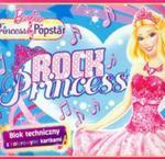Blok techniczny Barbie A4 z kolorowymi kartkami 10 kartek Rock Princess w sklepie internetowym Booknet.net.pl