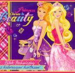 Blok techniczny Barbie A4 z kolorowymi kartkami 10 kartek Princess Charm and Beauty w sklepie internetowym Booknet.net.pl