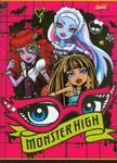 Zeszyt Monster High w trzy linie 16 stron A5 oczy w sklepie internetowym Booknet.net.pl