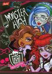 Zeszyt Monster High w trzy linie dwukolorowa 16 stron A5 w sklepie internetowym Booknet.net.pl
