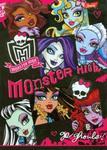 Zeszyt Monster High w trzy linie dwukorowa 16 stron A5 w sklepie internetowym Booknet.net.pl