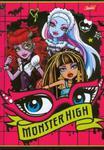 Zeszyt Monster High w linie 16 stron A5 w sklepie internetowym Booknet.net.pl