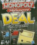Monopoly Deal Milionerzy gra w karty w sklepie internetowym Booknet.net.pl