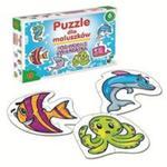 Puzzle dla maluszków Podwodne zwierzęta w sklepie internetowym Booknet.net.pl