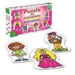 Puzzle dla maluszków Dziewczynki w sklepie internetowym Booknet.net.pl