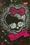 Brulion A6 Monster High czacha z sercem w sklepie internetowym Booknet.net.pl