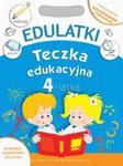 """Teczka edukacyjna """"Edulatki - 4-latek"""" PROMOCJA w sklepie internetowym Booknet.net.pl"""