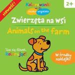 Zwierzęta na wsi Kolorowanki polsko-angielskie z naklejkami w sklepie internetowym Booknet.net.pl