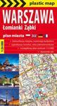 Warszawa.Foliowany plan miasta. 1:26 000 w sklepie internetowym Booknet.net.pl