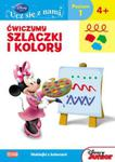 Disney Ucz się z nami Klub Przyjaciół Myszki Miki Ćwiczymy szlaczki i kolory w sklepie internetowym Booknet.net.pl