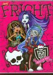 Zeszyt Monster High w linie 32 strony A5 Fright w sklepie internetowym Booknet.net.pl