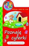 Poznaję cyferki. Mali geniusze. Naklejam, bawię się i uczę. Zmywalna książeczka. w sklepie internetowym Booknet.net.pl