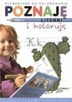 Poznaję literki i koloruję część 3 w sklepie internetowym Booknet.net.pl