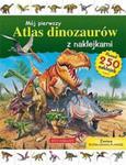 Mój pierwszy atlas dinozaurów z naklejkami + rozkładana plansza. Ponad 250 naklejek w sklepie internetowym Booknet.net.pl