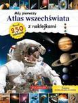 Mój pierwszy atlas wszechświata z naklejkami + rozkładana plansza. Ponad 250 naklejek w sklepie internetowym Booknet.net.pl