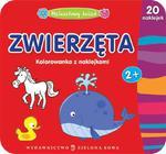 Maluszkowy świat. Zwierzęta. Kolorowanka z naklejkami. w sklepie internetowym Booknet.net.pl