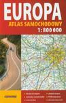 Europa atlas samochodowy 1:800 000 w sklepie internetowym Booknet.net.pl