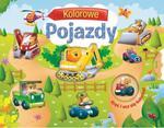 Kolorowe pojazdy. Kręć i ucz się kolorów w sklepie internetowym Booknet.net.pl