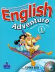 English Adventure 1 Podręcznik i zeszyt ćwiczeń z płytą CD i DVD w sklepie internetowym Booknet.net.pl