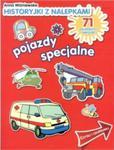 Historyjki z nalepkami. Pojazdy specjalne. w sklepie internetowym Booknet.net.pl