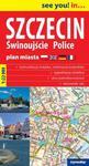 Szczecin Świnoujście Police plan miasta 3 w 1 1:22 000 w sklepie internetowym Booknet.net.pl