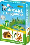 Domki i kryjówki Puzzle edukacyjne w sklepie internetowym Booknet.net.pl