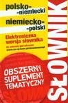 Słownik polsko-niemiecki niemiecko-polski z suplementem bez CD w sklepie internetowym Booknet.net.pl