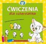 Ćwiczenia dla czterolatka z naklejkami. Akademia Kota Filemona w sklepie internetowym Booknet.net.pl