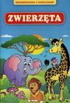 Kolorowanka z naklejkami Zwierzęta w sklepie internetowym Booknet.net.pl