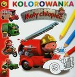 Wóz strażacki Mały chłopiec Kolorowanka w sklepie internetowym Booknet.net.pl