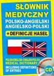 Słownik medyczny polsko-angielski angielsko-polski + definicje haseł + CD (słownik elektroniczny) w sklepie internetowym Booknet.net.pl