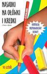 Trójkątne nasadki na ołówki i kredki 10 sztuk w sklepie internetowym Booknet.net.pl
