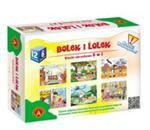 Klocki obrazkowe Bolek i Lolek w sklepie internetowym Booknet.net.pl