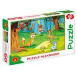 Puzzle 60 W lesie w sklepie internetowym Booknet.net.pl