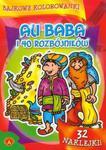 Bajkowe kolorowanki Ali Baba i 40 rozbójników w sklepie internetowym Booknet.net.pl