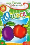 Moja pierwsza kolorowanka Owoce w sklepie internetowym Booknet.net.pl
