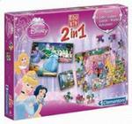 Gra Edukacyjna 2w1 Klocki i puzzle Księżniczki w sklepie internetowym Booknet.net.pl