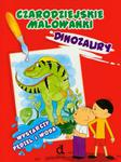 Czarodziejskie malowanki Dinozaury w sklepie internetowym Booknet.net.pl