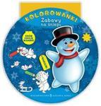 Kolorowanki. Zabawy na śniegu w sklepie internetowym Booknet.net.pl