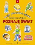 Poznaję świat Moje pierwsze słowa elementarz z naklejkami 1 w sklepie internetowym Booknet.net.pl