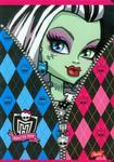 Zeszyt Monster High A5 w 3 linie 16 kartek linia dwukolorowa w sklepie internetowym Booknet.net.pl