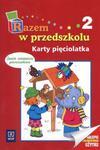 Razem w przedszkolu Karty pięciolatka część 2 w sklepie internetowym Booknet.net.pl