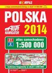 Polska 2014 Atlas samochodowy 1:500 000 w sklepie internetowym Booknet.net.pl