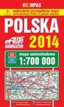 Mapa samochodowa. Polska 1:700 000 w sklepie internetowym Booknet.net.pl