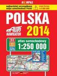 Polska 2014 Atlas samochodowy 1:250 000 w sklepie internetowym Booknet.net.pl